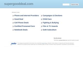 SuperGoodDeal.c