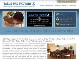 Table Pad Factory Reviews Reviews Of Tablepadfactorycom - Table pad factory