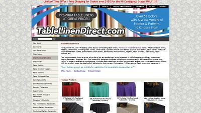 Tablelinendirect.com Reviews - tablelinendirect.com Ratings at