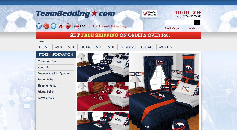 Team Bedding