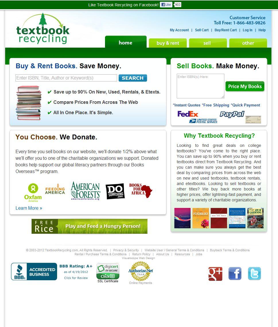 Textbookrecycli