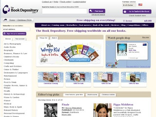 The Book Depository: Reviews of www bookdepository co uk online