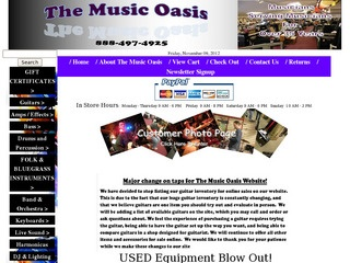 The Music Oasis