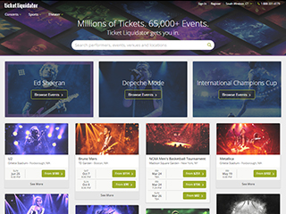 Ticket Liquidator is a popular event tickets retailer which operates the website tiospecicin.gq As of today, we have 2 active Ticket Liquidator promo codes, 1 single-use code and 2 sales. The Dealspotr community last updated this page on November 26, /5(15).
