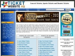 Ticket Website