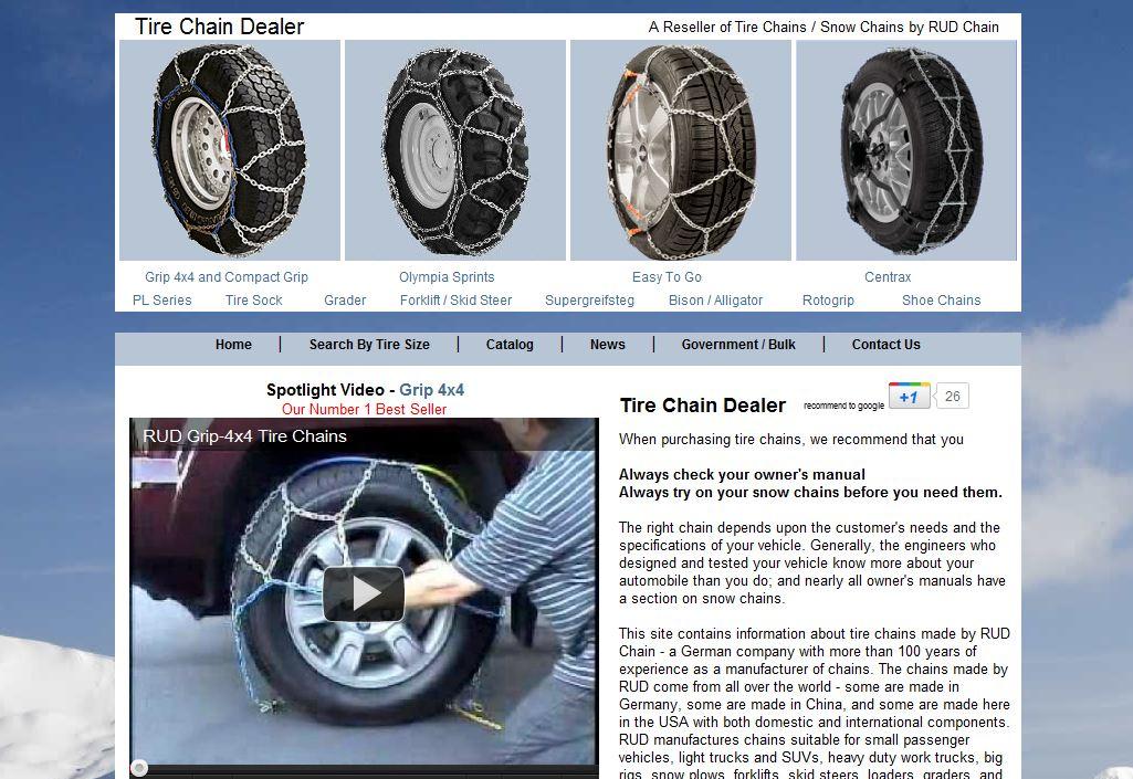 Tire Chain Deal