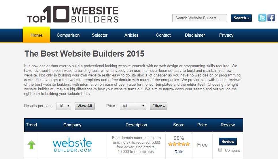 Top10webbuilder