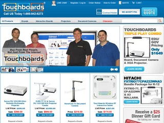 Touchboards