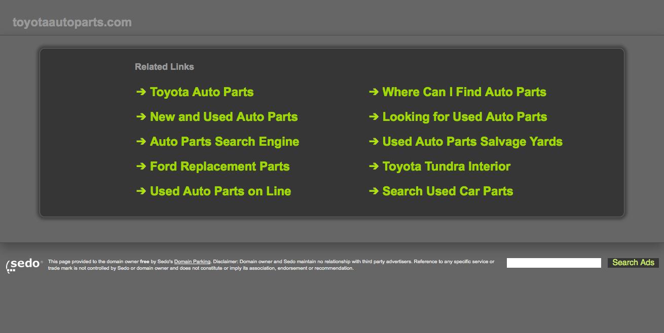 Toyota Auto Par