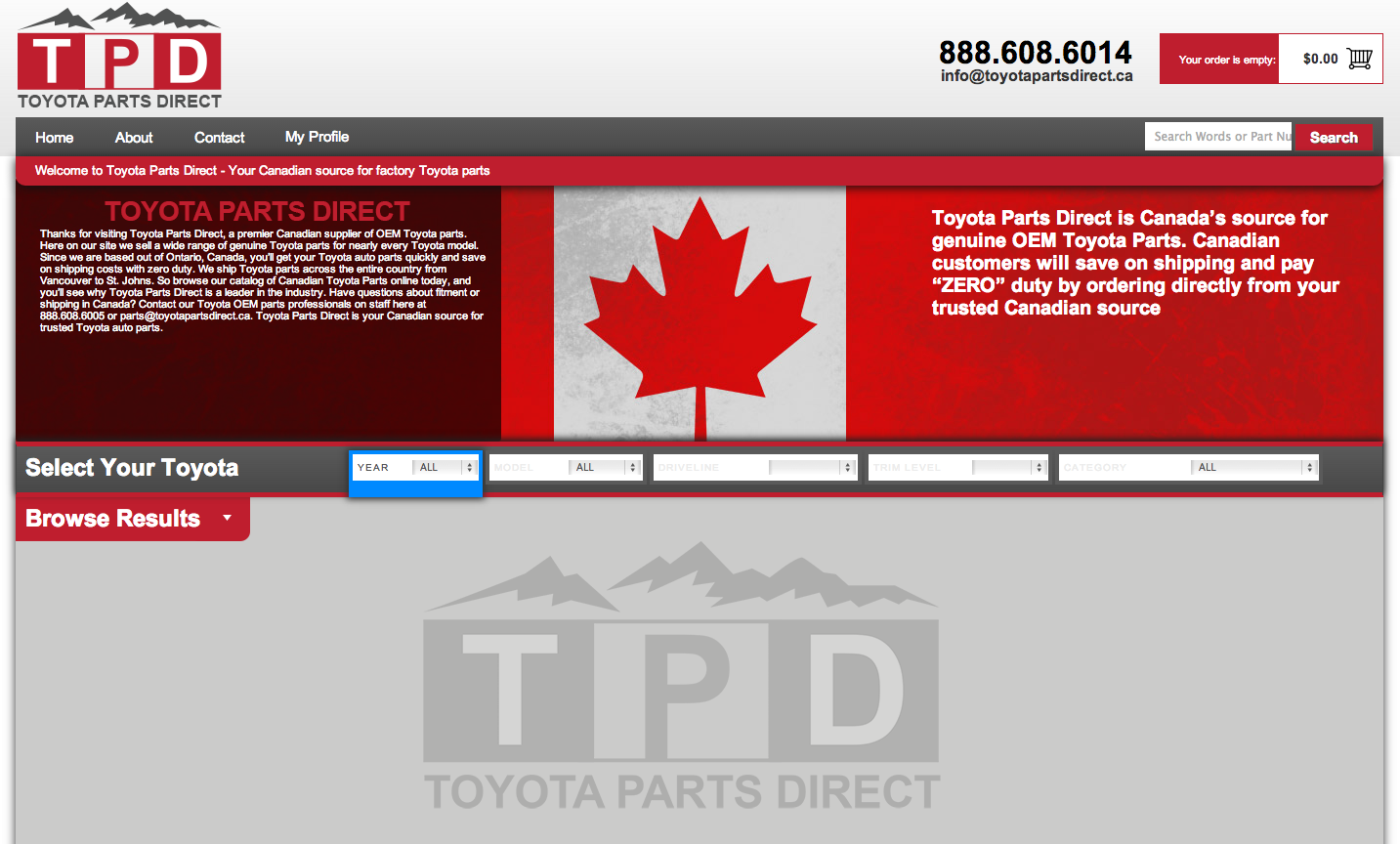 Toyota Parts Direct >> Toyotapartsdirect Ca Reviews 179 Reviews Of Toyotapartsdirect Ca