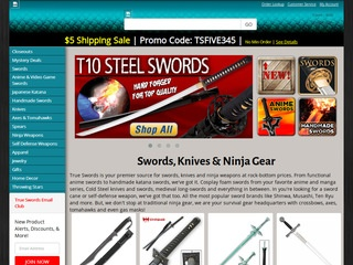 True Swords Reviews | 15 Reviews of Trueswords.com | ResellerRatings