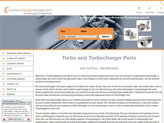 Turbocharger Pr