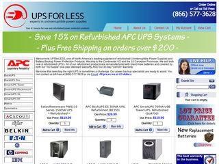 UPSforLess / KM