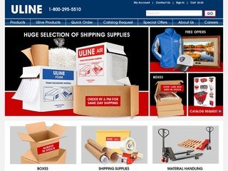Uline Shipping