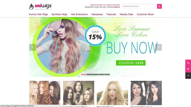 Uniwigs Wigs Online
