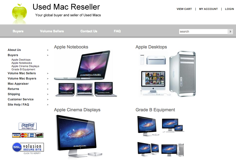 Used Mac Resell