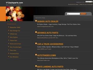 V12 Auto Parts