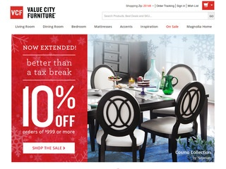 Value City Furniture Reviews 42 Reviews Of Vcf Com Resellerratings
