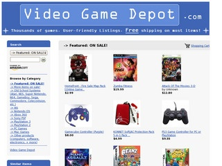 Video Game Depo