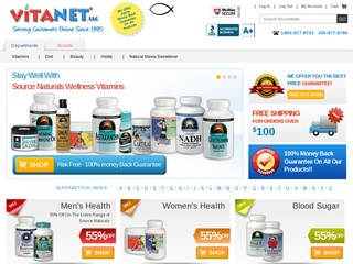 VitaNet Health Foods Rated Stars By Consumers Vitanetonline - What needs to be on an invoice vitamin store online