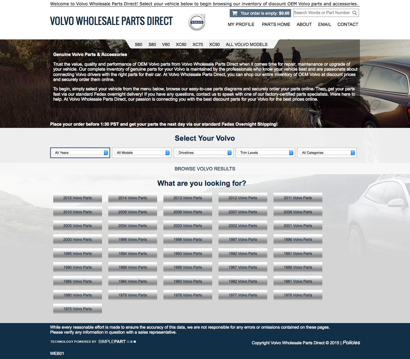 Volvo Wholesale