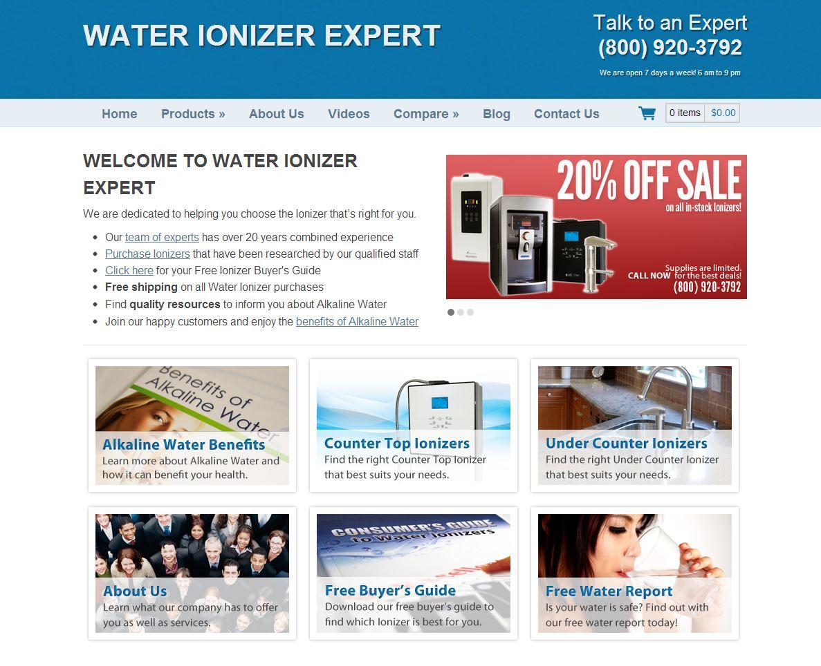 Water Ionizer E