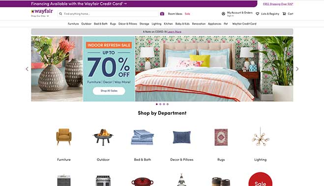 Wayfair Wayfair Elite Status