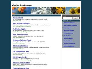 Weathersupplies