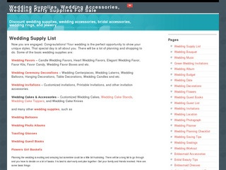 Wedding Supply List Reviews - weddingsupplylist.com Ratings at