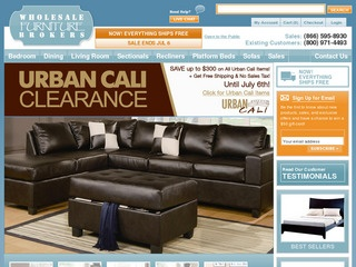Wholesale Furniture Brokers Rated 3 5 stars by 10