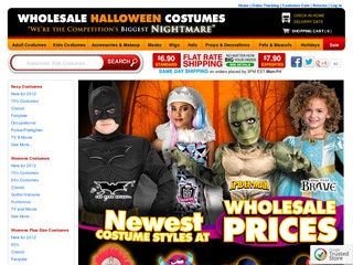 Wholesalehalloweencostumes.com Rated 1/5 stars by 79 Consumers ...