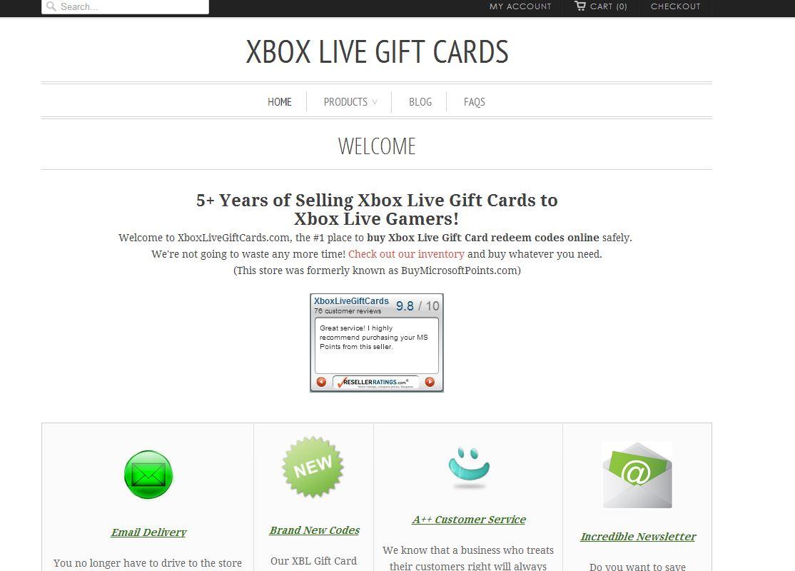 XboxLiveGiftCar