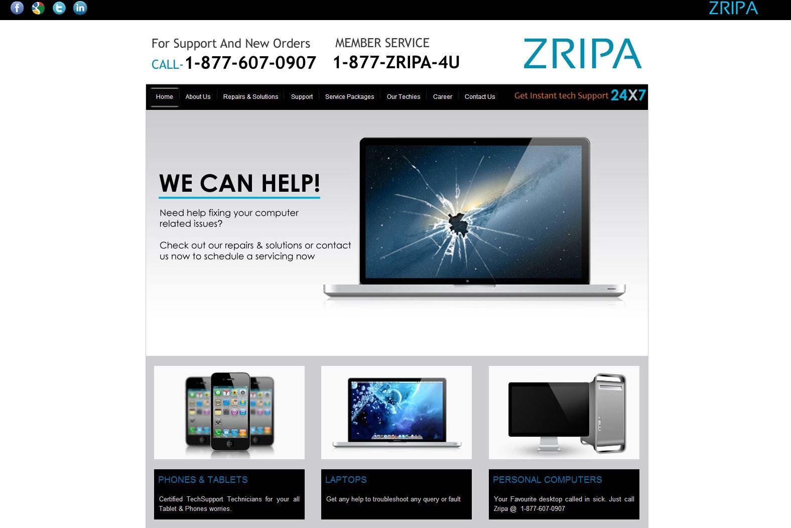 ZRIPA Technical