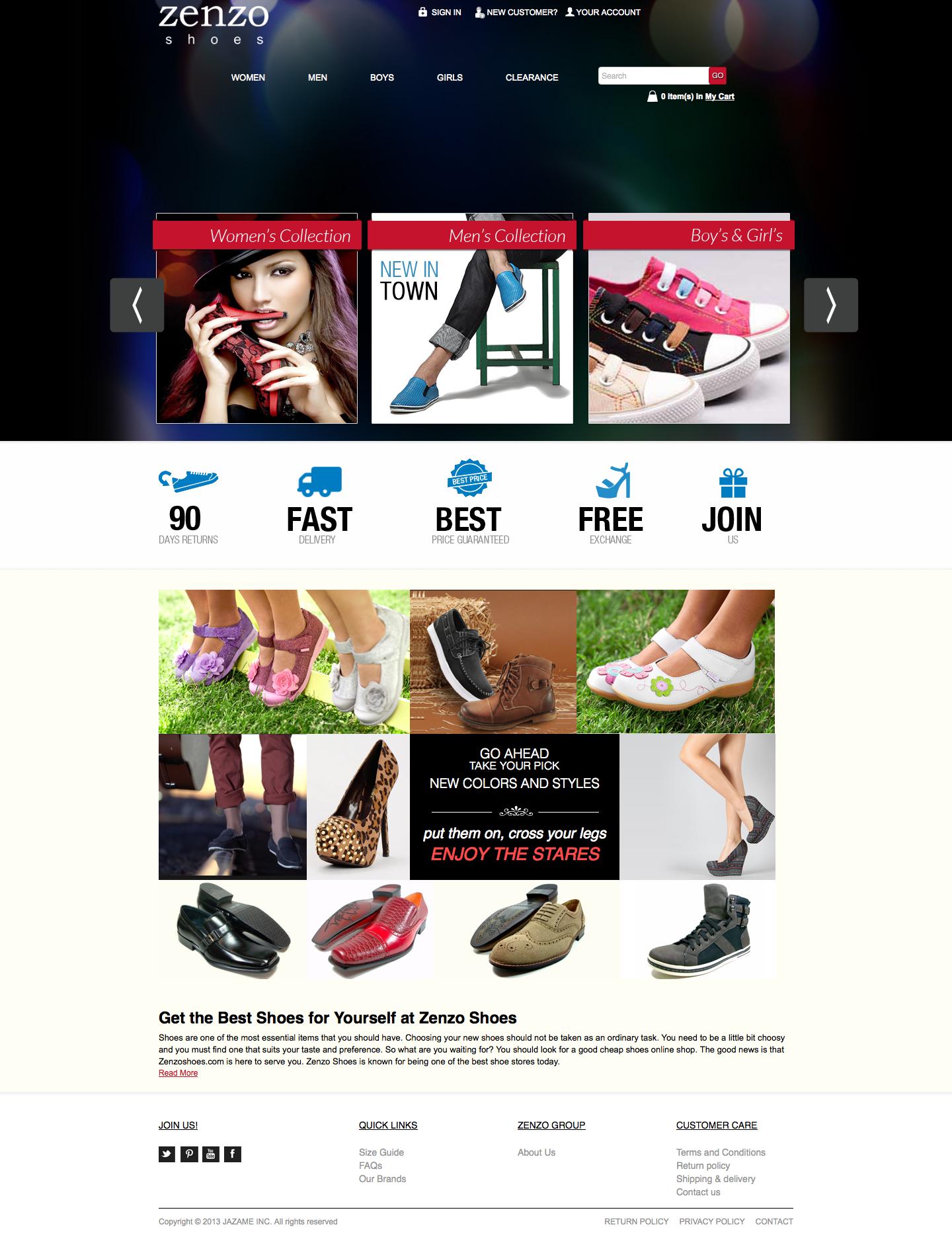 Zenzo Shoes