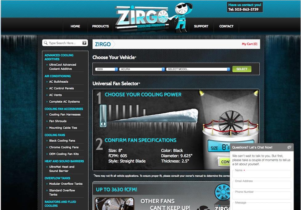 Zirgo Cooling P