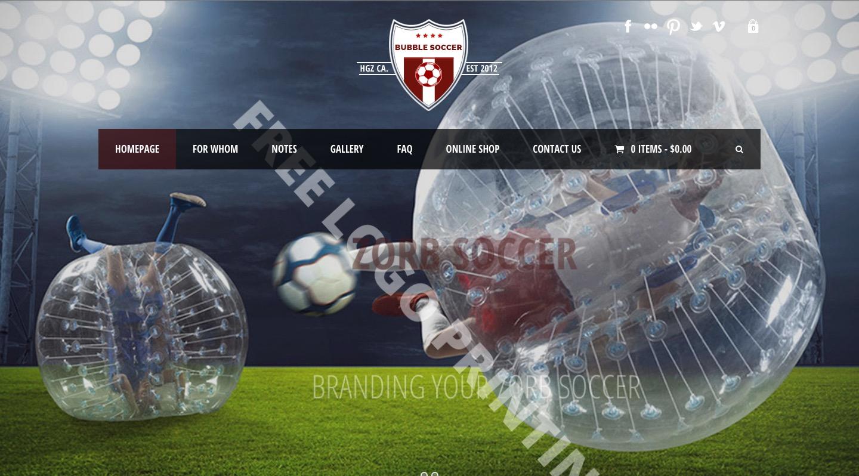 Zorb Soccer For