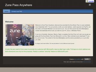 Zune Pass Anywh