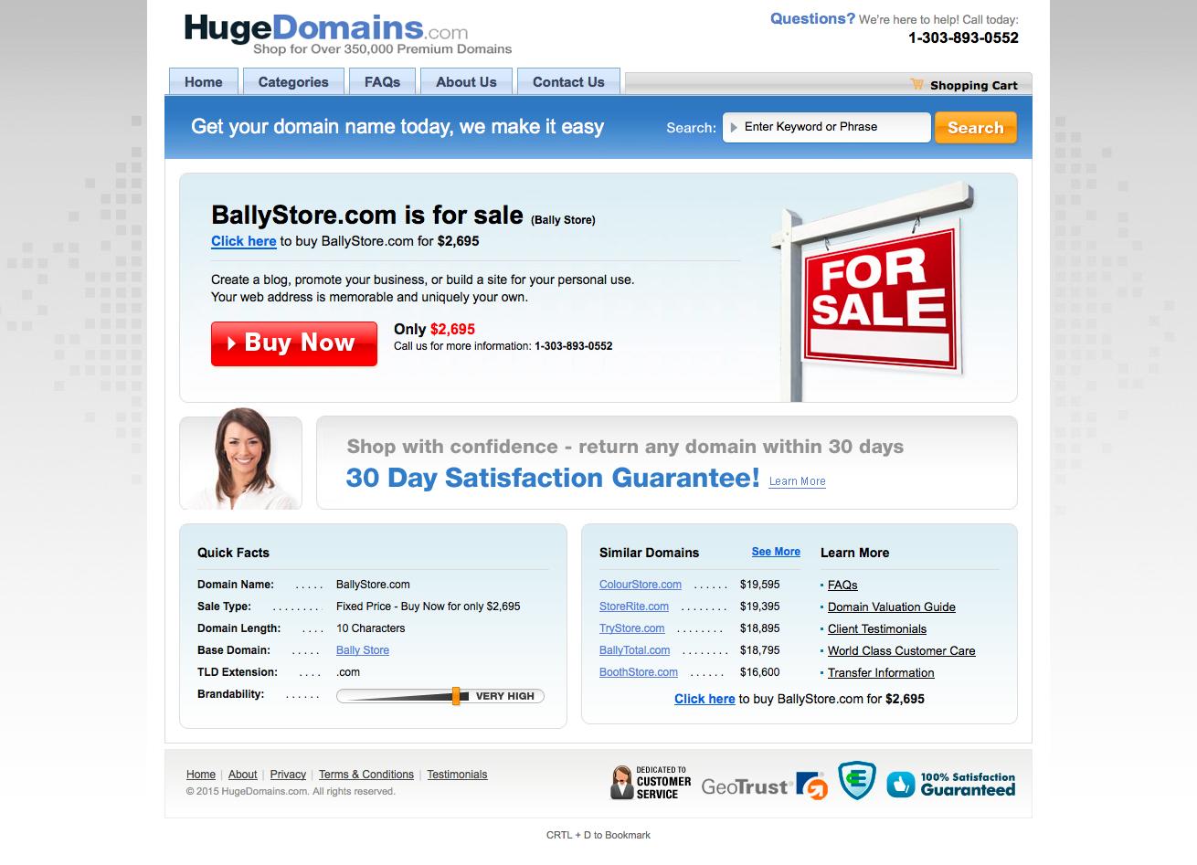 ballystore.com
