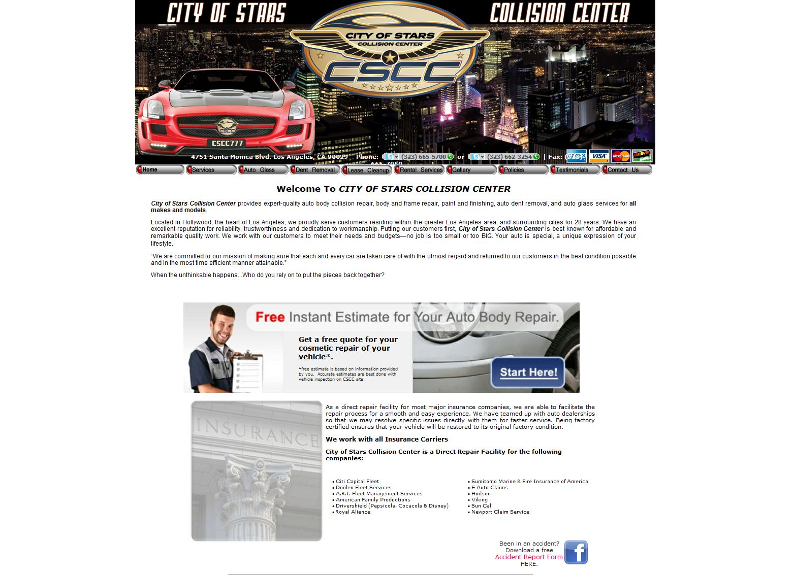 City Of Stars Collision Center Reviews