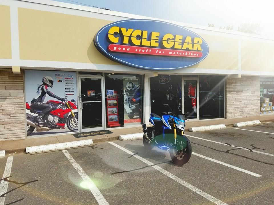 Cycle Gear, Man