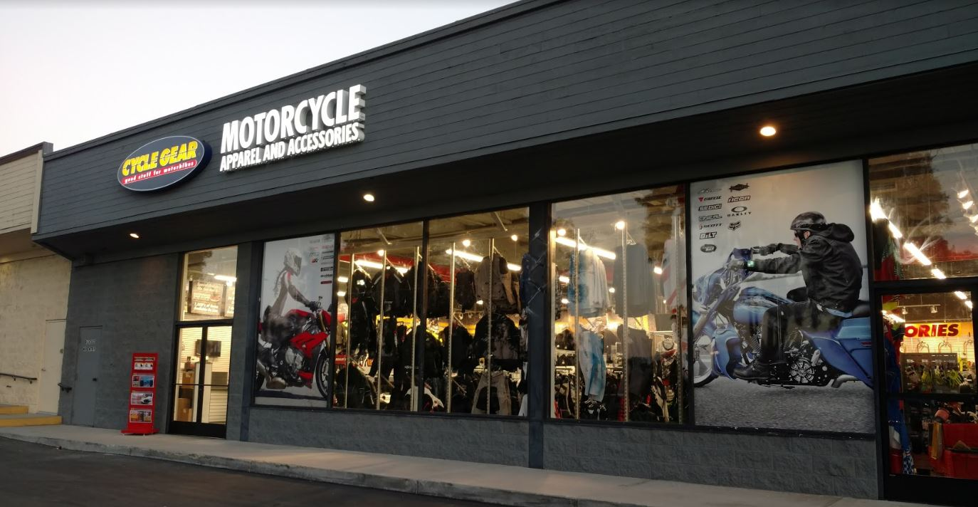 Motorcycle clothing stores