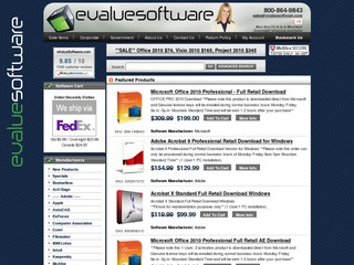 eValueSoftware.