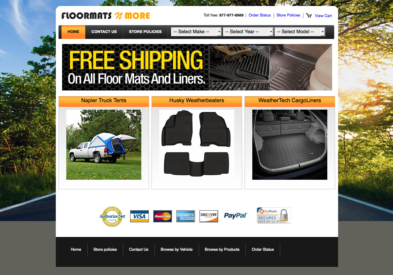 Floormatsnmore.com Rated 2/5 Stars By 6 Consumers   Floormatsnmore.com  Consumer Reviews At ResellerRatings
