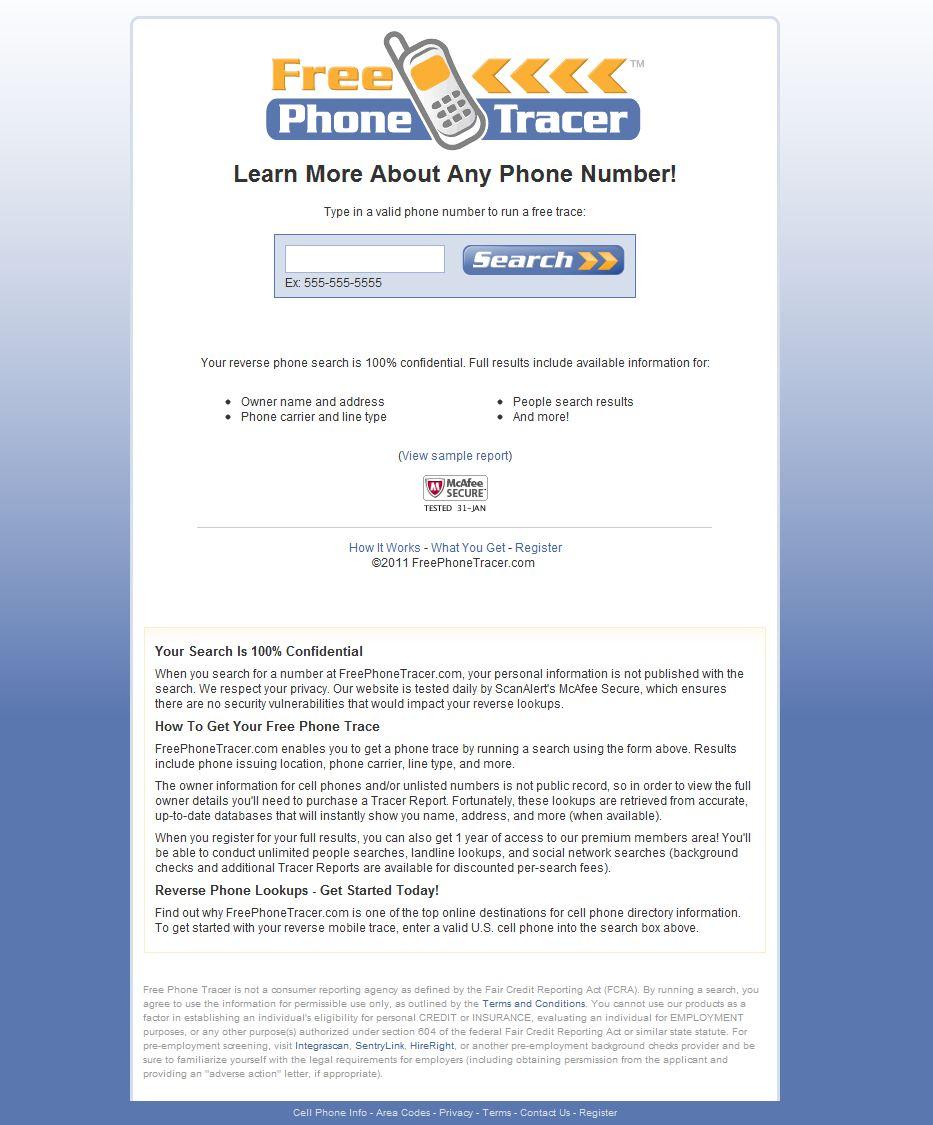 freephonetracer