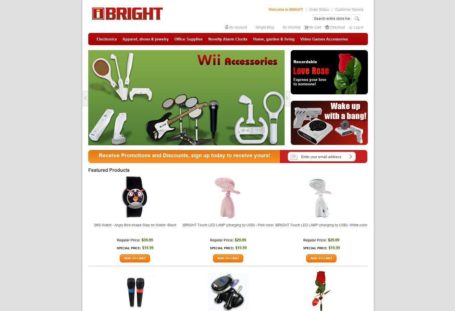 ibright online store ibright llc theibright com home 1 reviews 10 00 ...