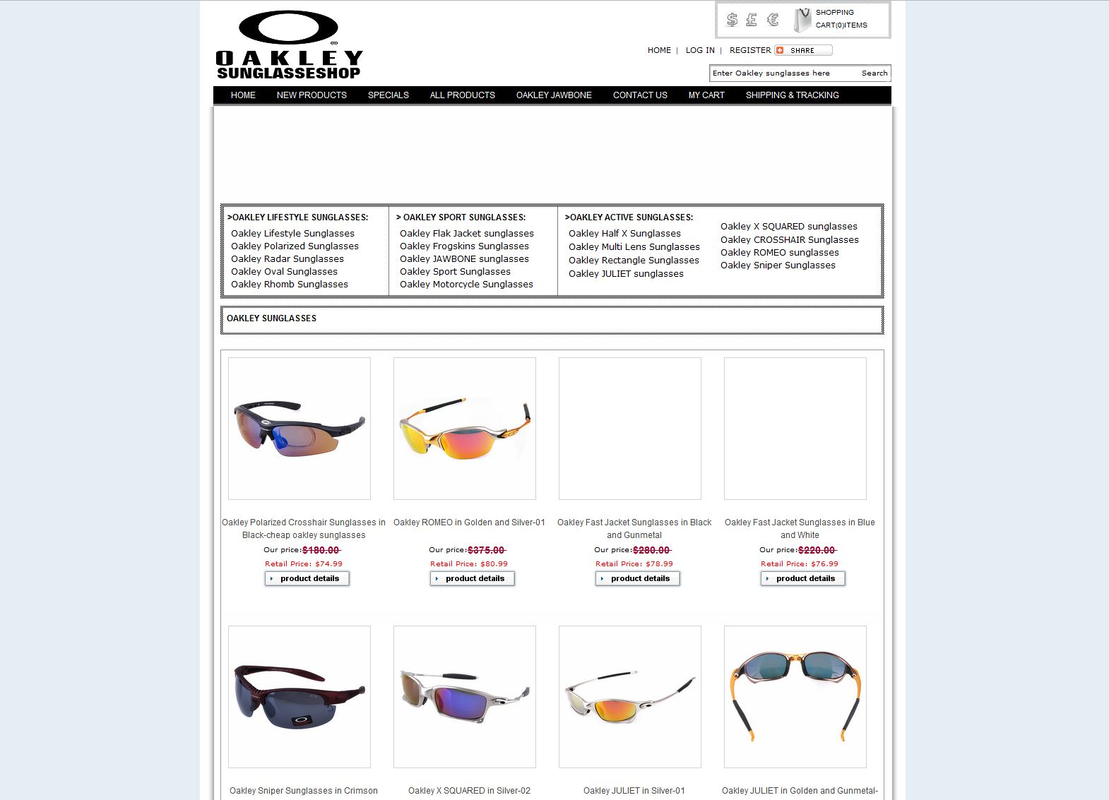 Online Store Reviews - oakleysunglasses4sale.org Consumer Reviews ...