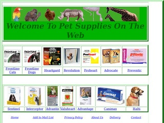pet supplies on