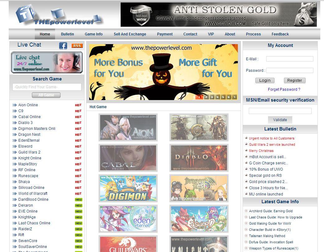 THEpowerlevel com Reviews | 2 Reviews of Https://thepowerlevel com
